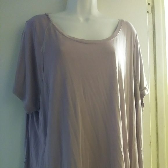 Tops - Woman overside blouse